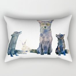 Rectangular Pillow - ramdom bunny - franciscomffonseca