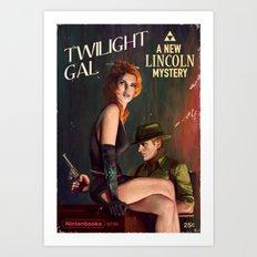 Twilight Gal Art Print