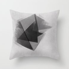 Abstraction Process Throw Pillow
