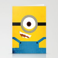 Simple Heroes - Minion Stationery Cards