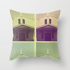 Same Shit, Different Deity Throw Pillow