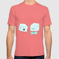 Ice Cube Problems Mens Fitted Tee Pomegranate SMALL