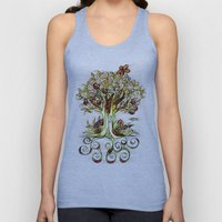 Fall Tree Bloom Unisex Tank Top