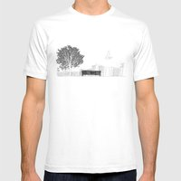 Tom's Favourite Spot — Angels Knoll Park, LA — (500) Days of Summer Mens Fitted Tee White SMALL
