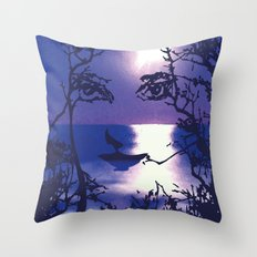 Vesperal Apparition Throw Pillow