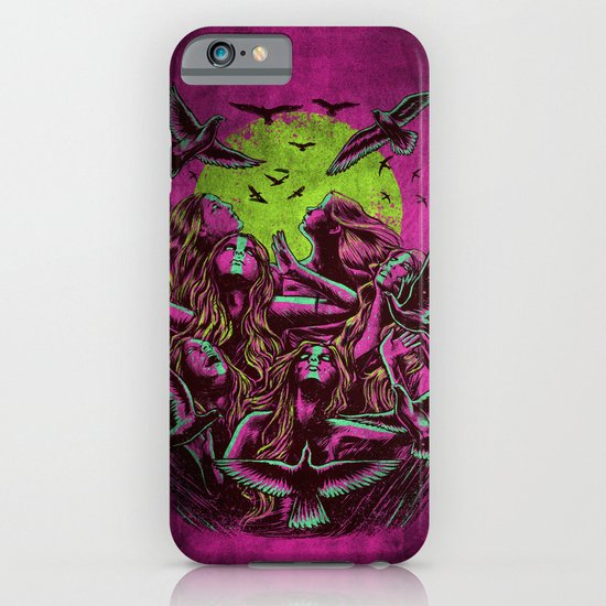 FLAYING BACK iPhone & iPod Case