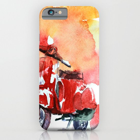 Scooter iPhone & iPod Case
