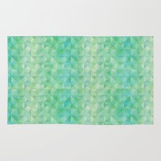 Green/Blue : Pattern Rug