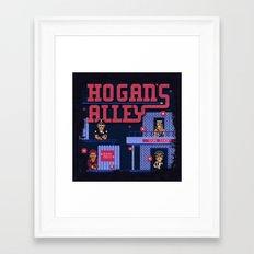 Alley Hogans Framed Art Print