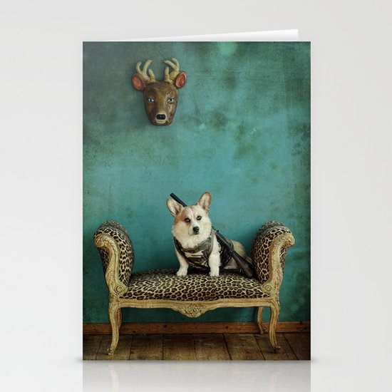 The Deer Hunter Stationery Card