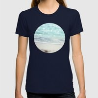 Serenity Womens Fitted Tee Navy SMALL