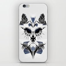 Abstract Wolf iPhone & iPod Skin