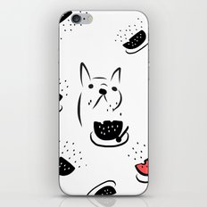 water melon frenchie iPhone & iPod Skin