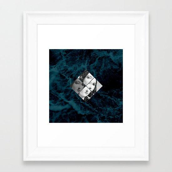ondine v.2 Framed Art Print
