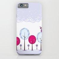 Pastel Dream Trees iPhone 6 Slim Case