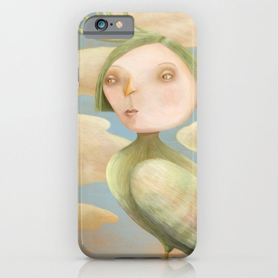 Green Crested Ladytoo iPhone & iPod Case