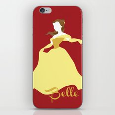 Belle from Beauty and the Beast Disney iPhone & iPod Skin