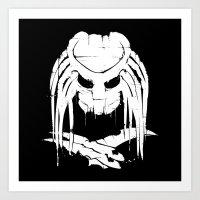 Pochoir - Predator Art Print