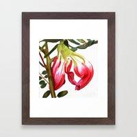Butterfly Tree Framed Art Print