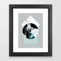 Geometric Textures 2 Framed Art Print