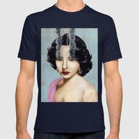 Elizabeth Taylor Mens Fitted Tee Navy SMALL