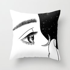 Contact Throw Pillow