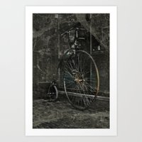 Long Ride Art Print