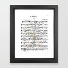 Sonatina Framed Art Print