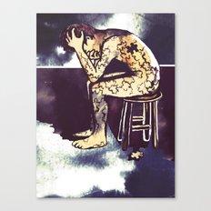 Blackened Sky/Puzzle Canvas Print