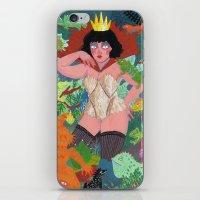 The Lizard Queen iPhone & iPod Skin