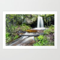 Scott Falls In Spring - … Art Print