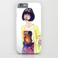 iPhone & iPod Case featuring Fashion Illustration . Oriental Girl by Smog