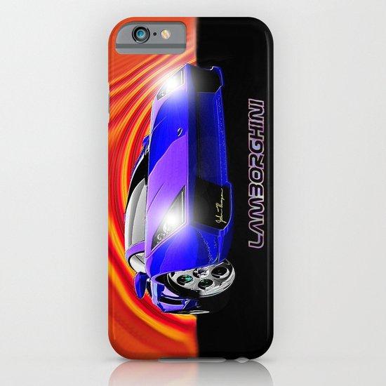 Lamborghini Gallardo (2) iPhone & iPod Case
