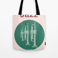 Jazz Relax Tote Bag