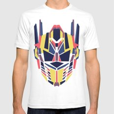 Prime Mens Fitted Tee SMALL White