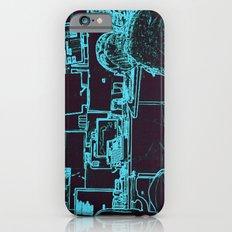 9-1-1 blue iPhone 6 Slim Case