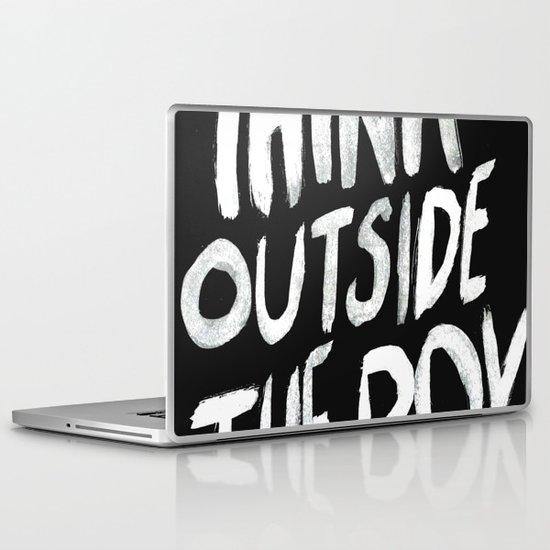 The Box Laptop & iPad Skin