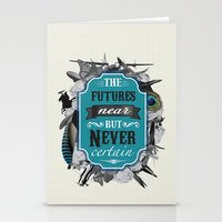 The Future's Near But Ne… Stationery Cards