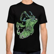 Death of a Siren Black SMALL Mens Fitted Tee