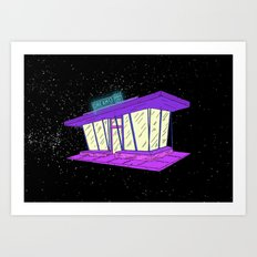 Dreams Store Art Print