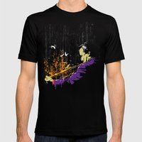 Trumpet Man Mens Fitted Tee Black SMALL
