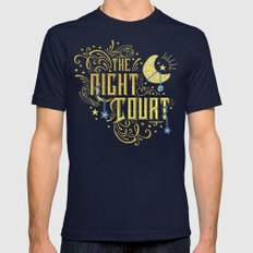 The Night Court Mens Fitted Tee Navy SMALL