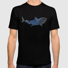 Shark SMALL Mens Fitted Tee Black