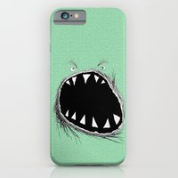 monster iPhone & iPod Cases featuring monster by Кaterina Кalinich