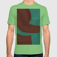 Let's Cuddle Mens Fitted Tee Grass SMALL