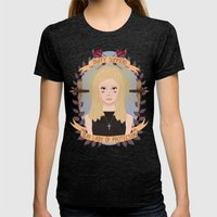 Buffy Summers Womens Fitted Tee Tri-Black SMALL