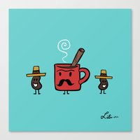 Cafe De Olla Canvas Print