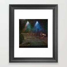 Zombie Party Framed Art Print