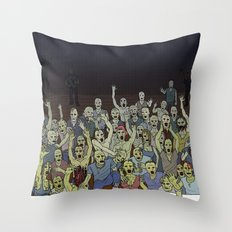 Zombies!!! Throw Pillow