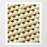 Ecailles #1 Art Print